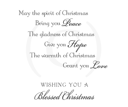 Christmas Card Verses.Cs Verse 13 Card Inserts Greeting Card Inserts For